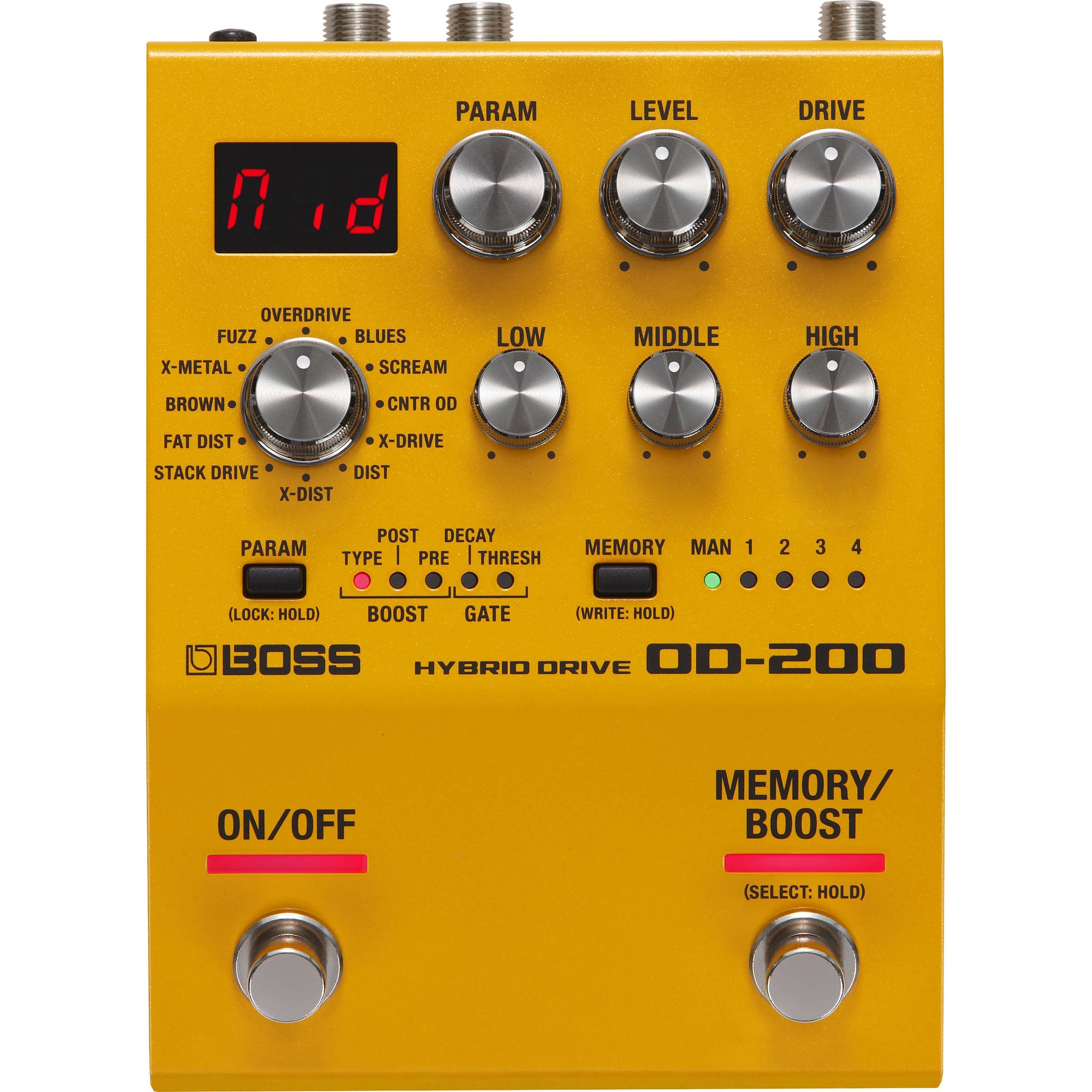 Boss OD-200 Hybrid Drive | Music Experience | Shop Online | South Africa