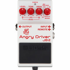 Boss JB-2 JHS Angry Driver Overdrive Pedal | Music Experience | Shop Online | South Africa