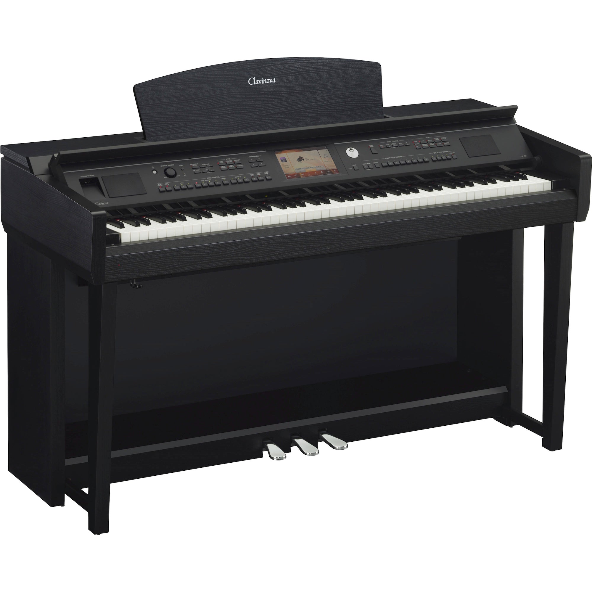 Yamaha Clavinova CVP-705B Digital Home Piano - Black Walnut | Music Experience | Shop Online | South Africa