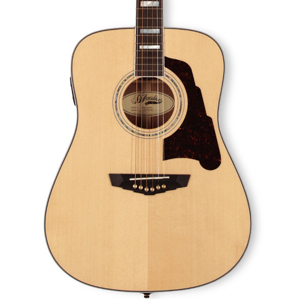 D'Angelico DAASD300 Lexington Dreadnought Natural