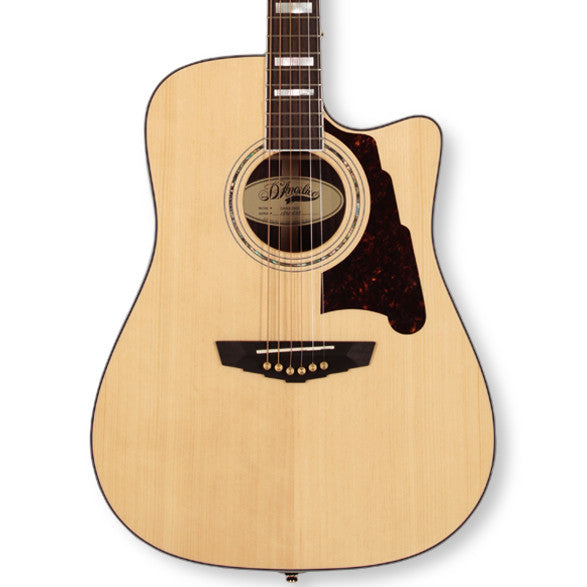 D'Angelico DAASD500 Bowery Dreadnought Natural
