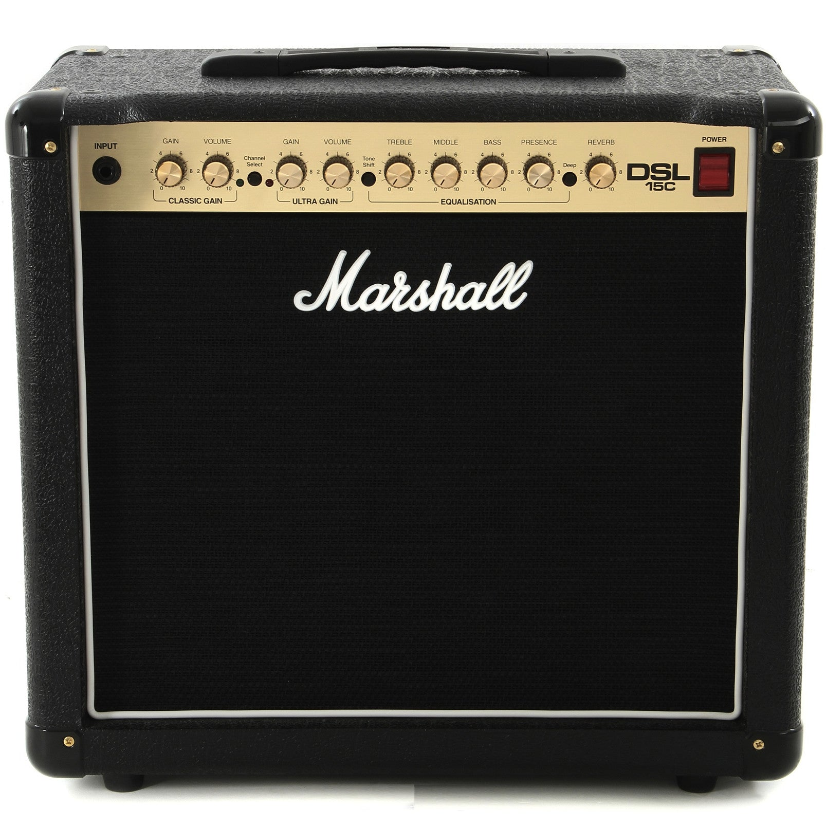 "Marshall DSL15C 15/7.5-watt 1x12"" Tube Combo Amp 