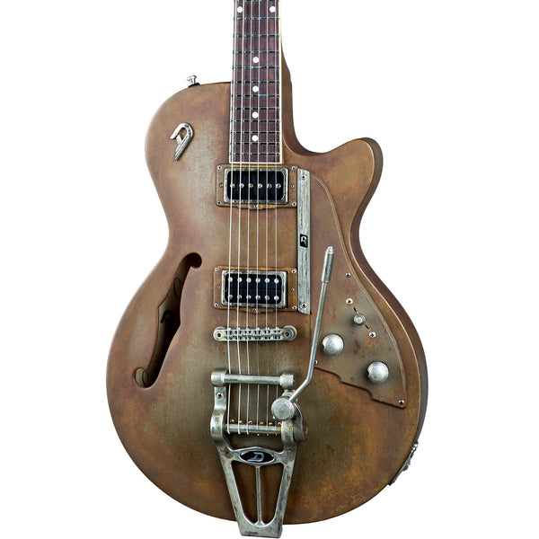 Duesenberg Custom Shop Starplayer TV Rusty Steel DCS-TV-RS | Music Experience | Shop Online | South Africa