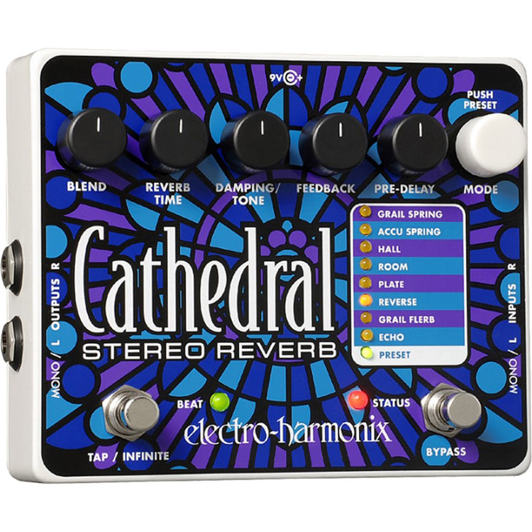 Electro-Harmonix Cathedral Stereo Reverb | Music Experience | Shop Online | South Africa