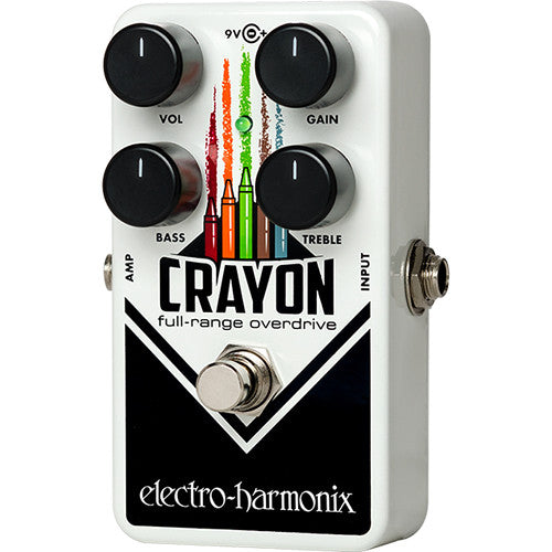 Electro-Harmonix Crayon 69 Full-Range Overdrive | Music Experience | Shop Online | South Africa