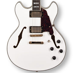 D'Angelico EX-DC Semi-Hollowbody White