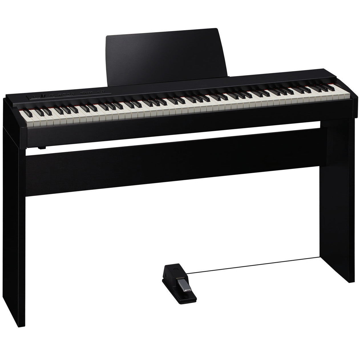 Roland F-20 Contemporary Black SuperNATURAL Piano & KSC-68 Stand