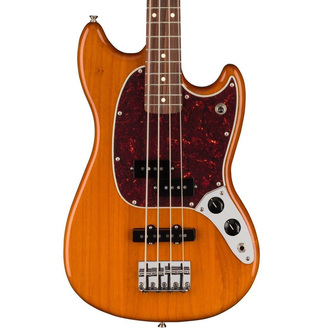 Fender Player Mustang Bass PJ Aged Natural | Music Experience | Shop Online | South Africa