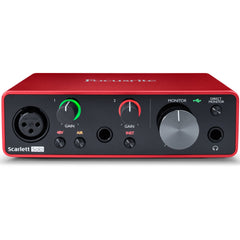 Focusrite Scarlett Solo USB Interface 3rd Generation | Music Experience | Shop Online | South Africa