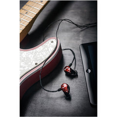 Fender FXA6 Pro In-Ear Monitors Red | Music Experience | Shop Online | South Africa
