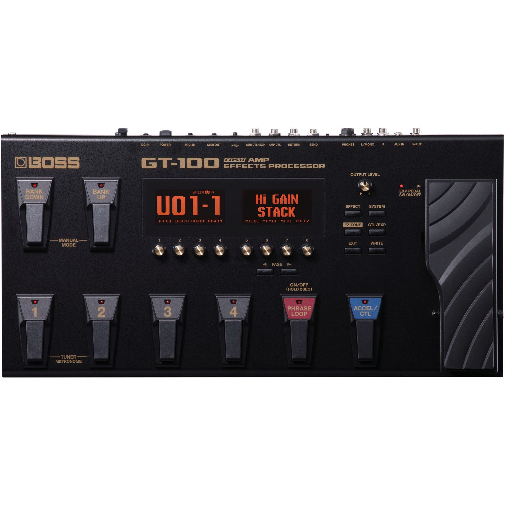 Boss GT-100 Guitar Effects Processor | Music Experience | Shop Online | South Africa