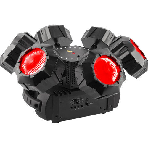 Chauvet DJ Helicopter Q6 RGBW Beam/Strobe/Laser Effect Light | Music Experience | Shop Online | South Africa