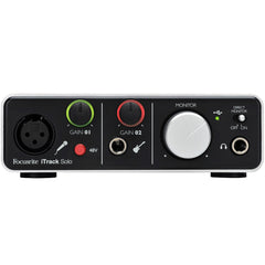 Focusrite iTrack Solo Lightning Audio Interface | Music Experience | Shop Online | South Africa
