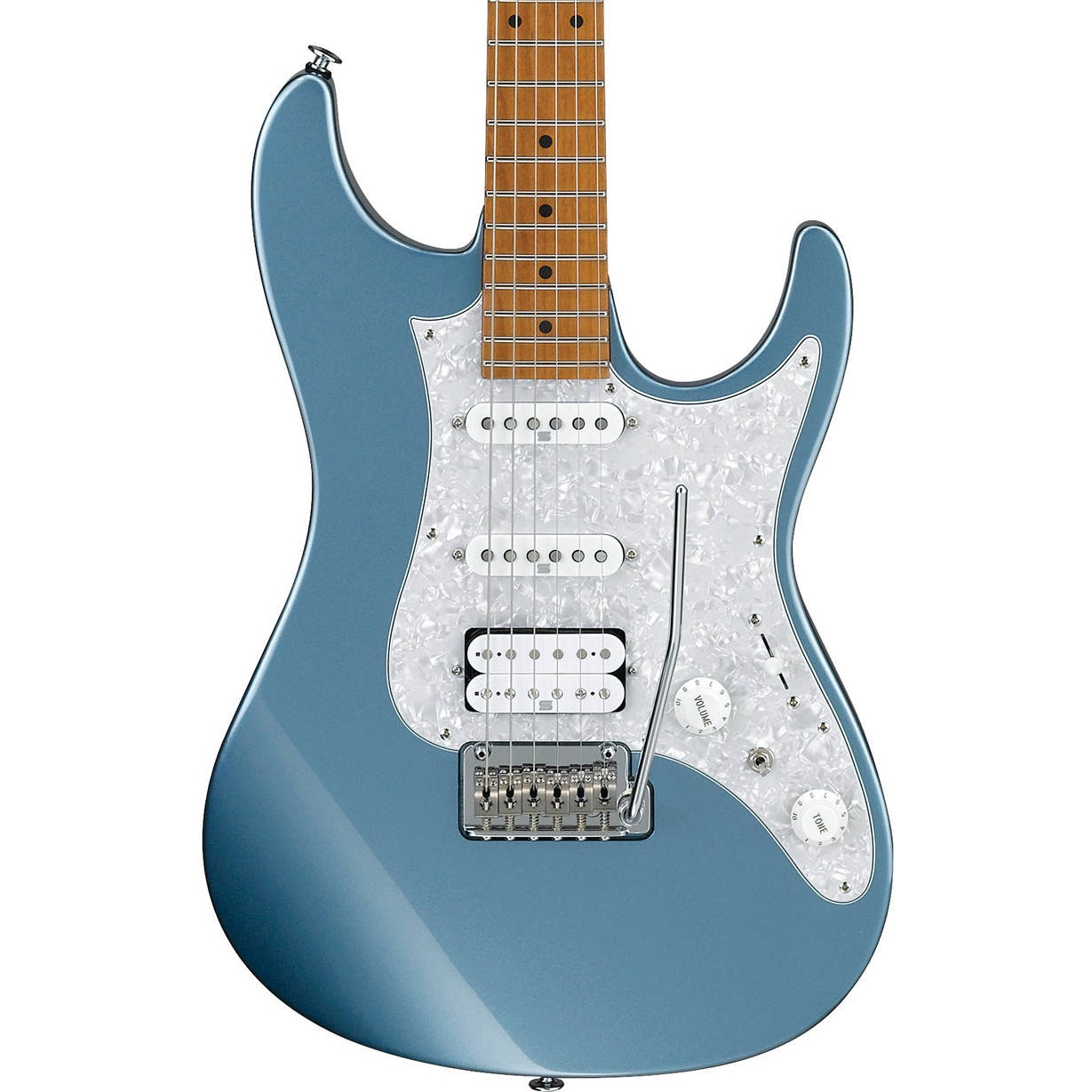 Ibanez AZ2204-ICM Ice Blue Metallic Prestige AZ Electric Guitar | Music Experience | Shop Online | South Africa