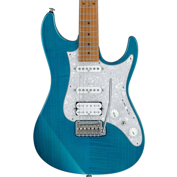 Ibanez AZ2204F-TAB Transparent Aqua Blue Prestige AZ Electric Guitar | Music Experience | Shop Online | South Africa