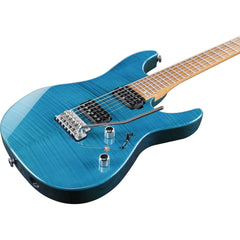 Ibanez MM1-TAB Martin Miller Signature Electric Guitar Transparent Aqua Blue | Music Experience | Shop Online | South Africa