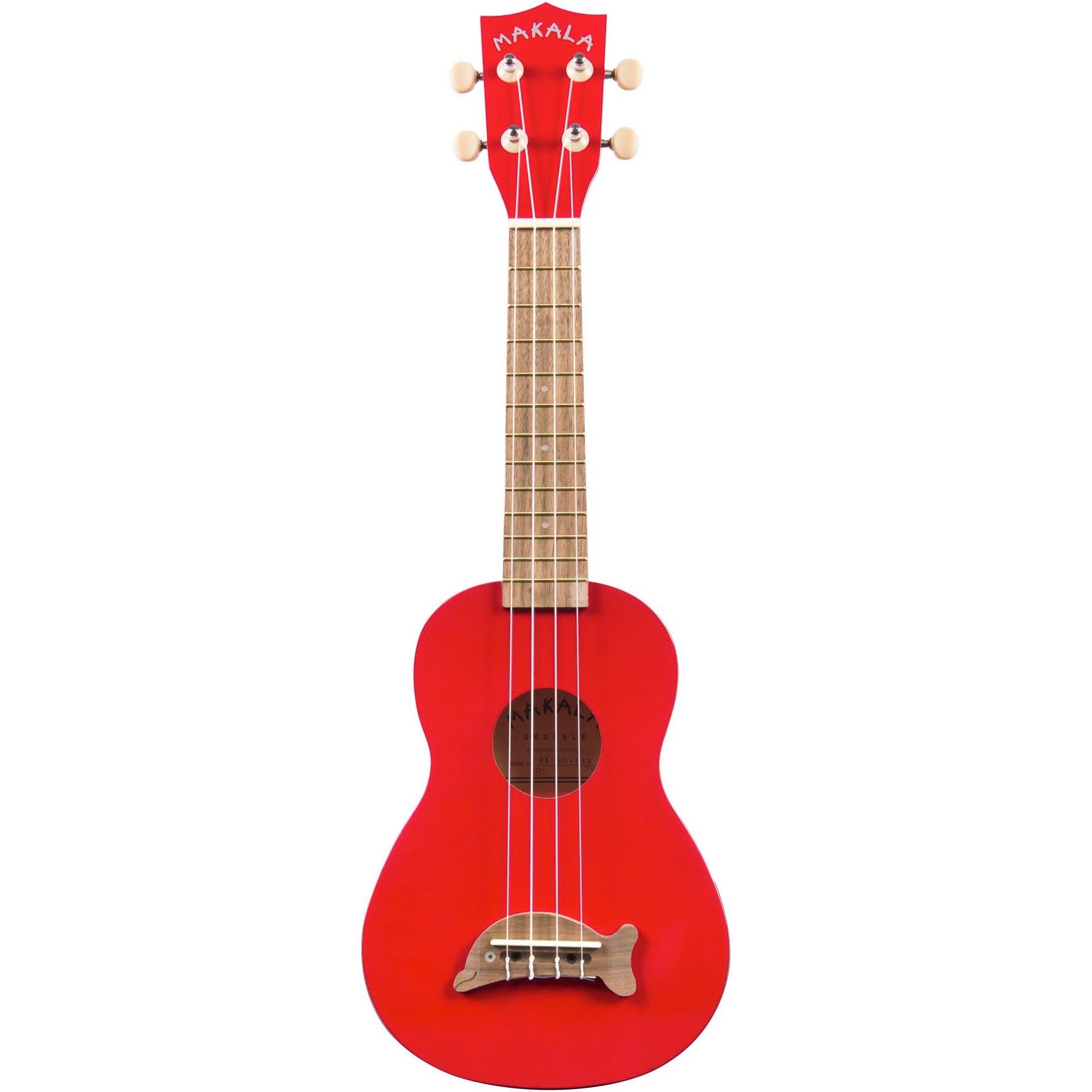 Kala MK-SD/CAR Makala Candy Apple Red Soprano Dolphin | Music Experience | Shop Online | South Africa