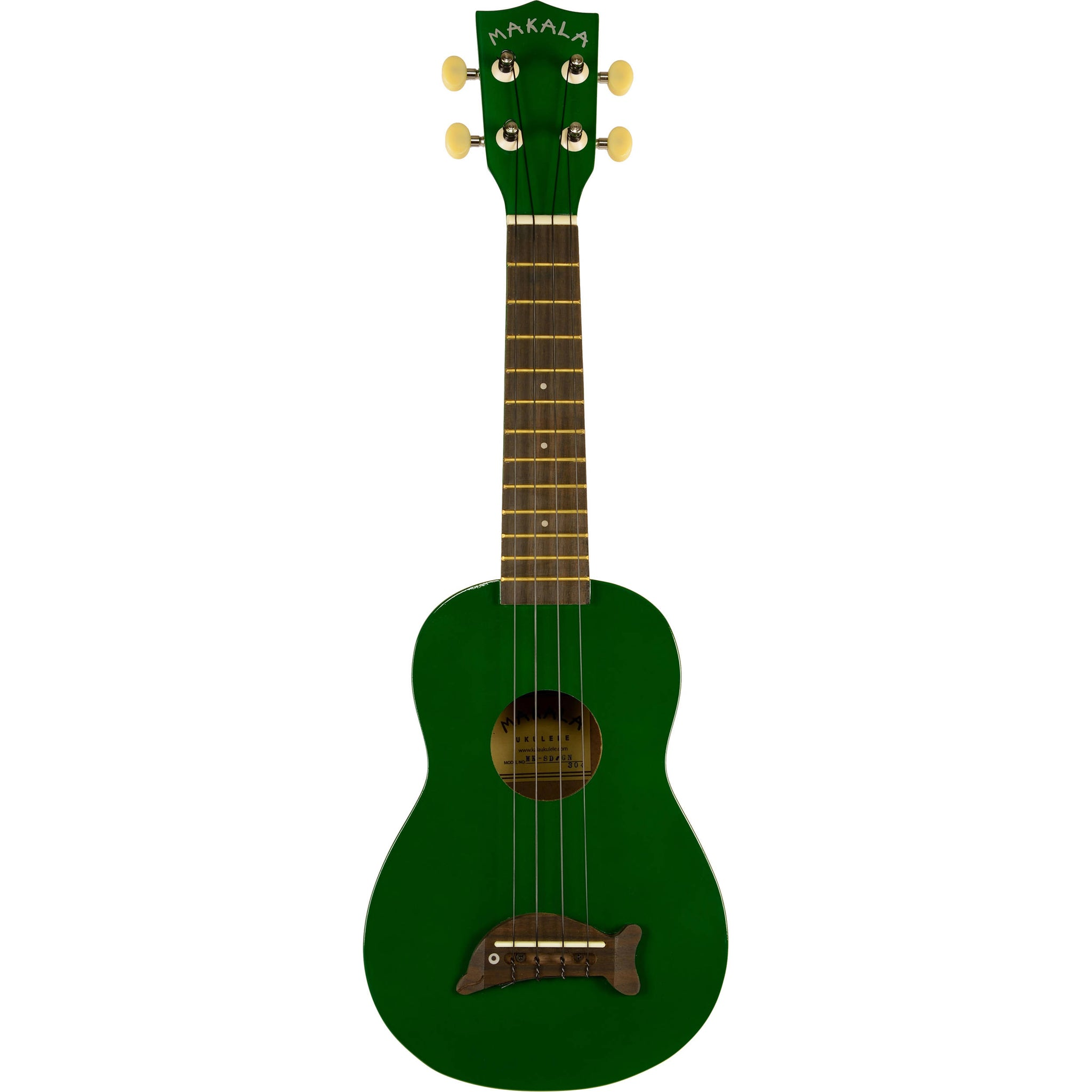 Kala MK-SD/GN Makala Green Soprano Dolphin | Music Experience | Shop Online | South Africa