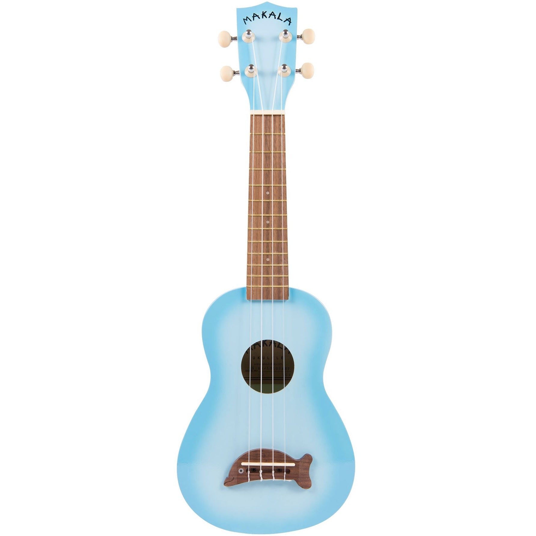 Kala MK-SD/LBL Makala Light Blue Burst Soprano Dolphin | Music Experience | Shop Online | South Africa