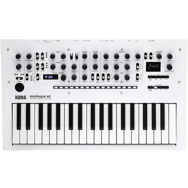 Korg Minilogue XD Pearl White Analogue Synthesizer | Music Experience | Shop Online | South Africa