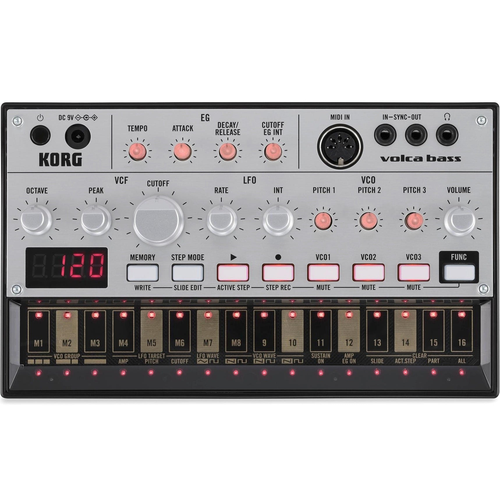 Korg Volca Bass Analog Bass Synthesizer | Music Experience | Shop Online | South Africa