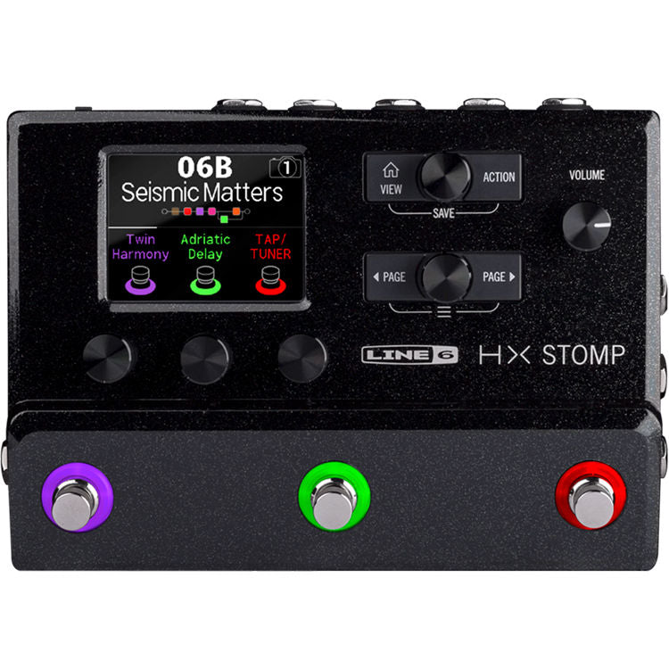 Line 6 HX Stomp Guitar Multi-effects Floor Processor