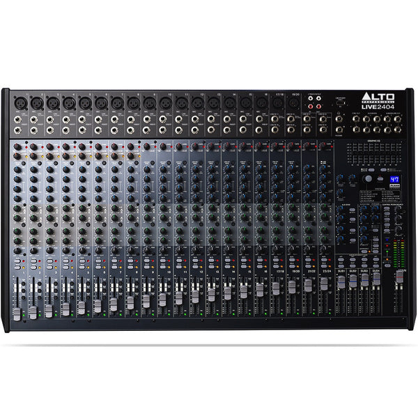Alto LIVE 2404 Professional 24-Channel/4-Bus Mixer | Music Experience | Shop Online | South Africa