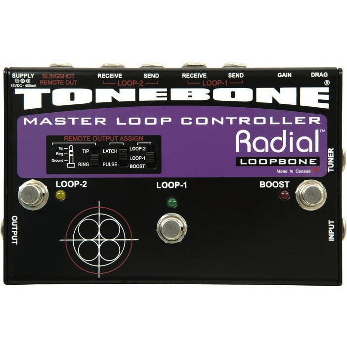 Radial Tonebone Loopbone Master Effects Loop Controller