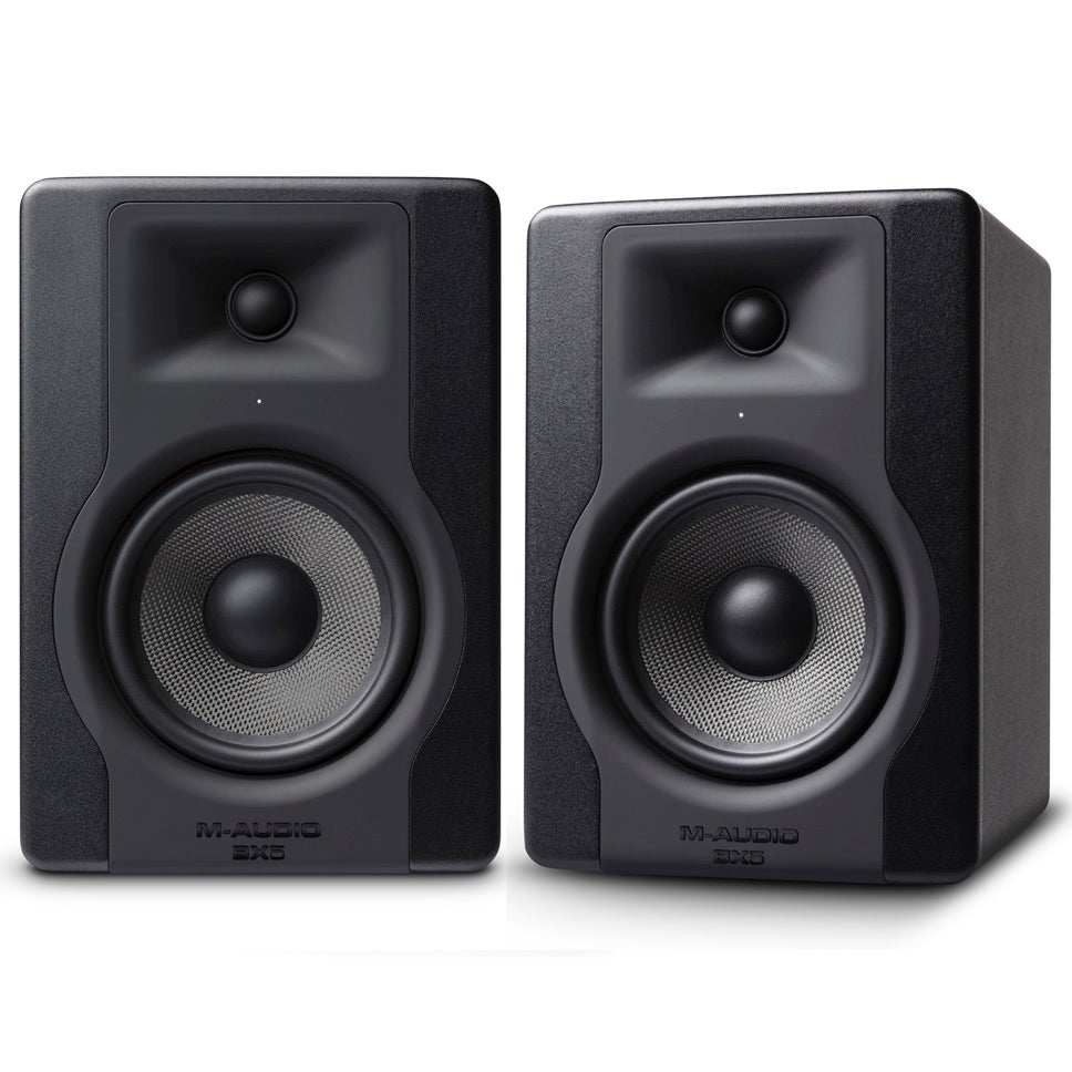 "M-Audio BX5 D3 5"" Powered Studio Monitor Pair 
