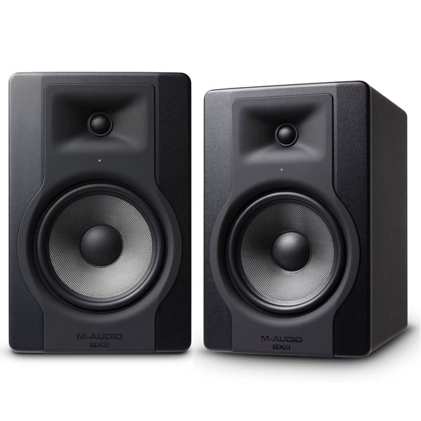 "M-Audio BX8 D3 8"" Powered Studio Monitor Pair 