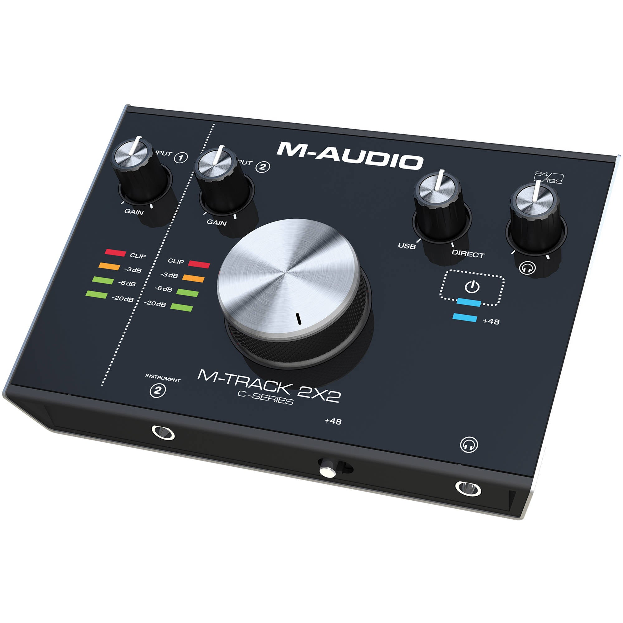 M-Audio M-Track 2X2 USB Audio Interface | Music Experience | Shop Online | South Africa