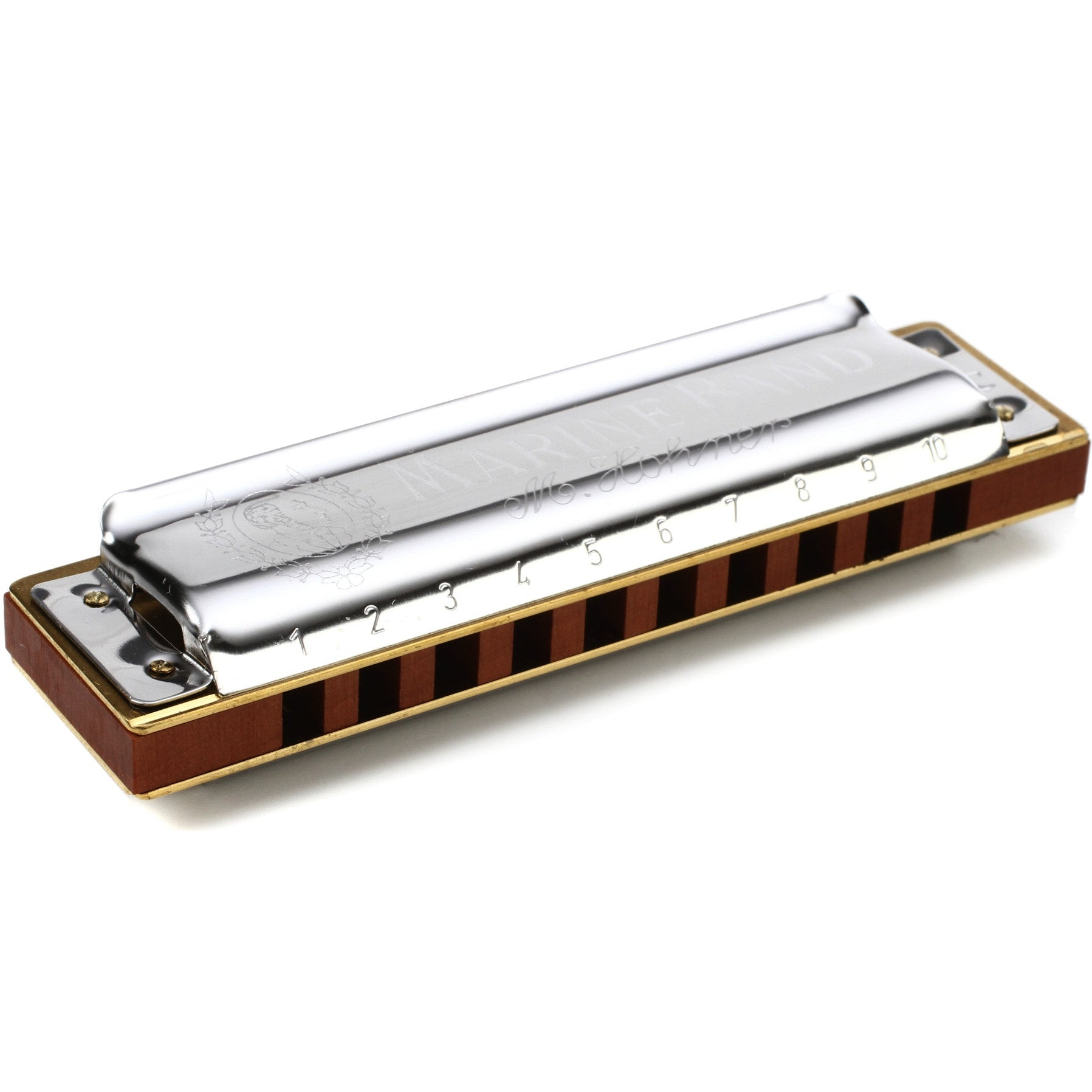 Hohner 2009 Marine Band Crossover Harmonica Key of C