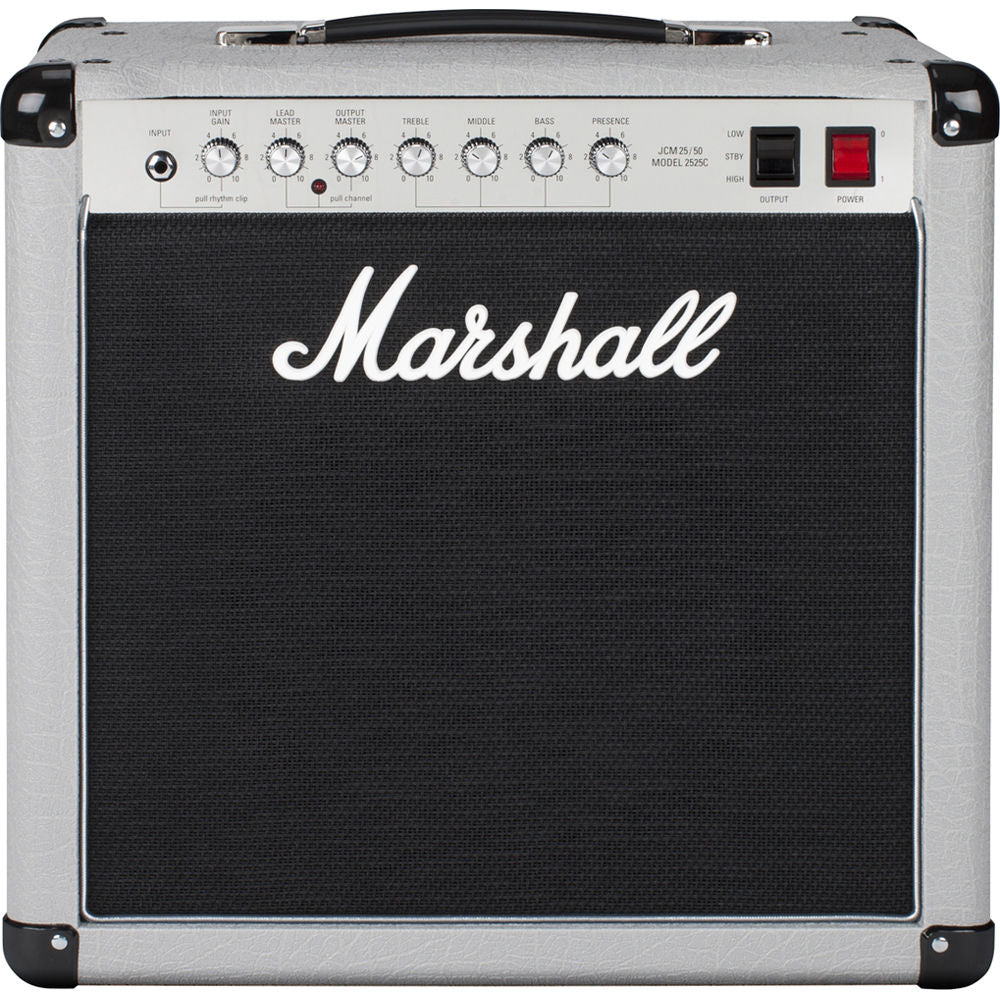 "Marshall 2525C Silver Jubilee 1x12"" 20/5-watt Tube Combo Amp 