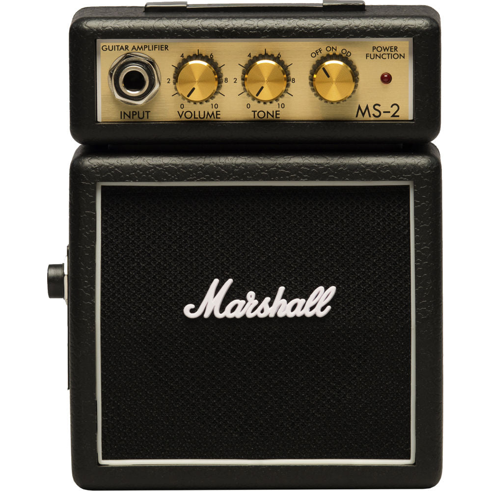 Marshall MS-2 1-watt Battery-powered Micro Amp - Black