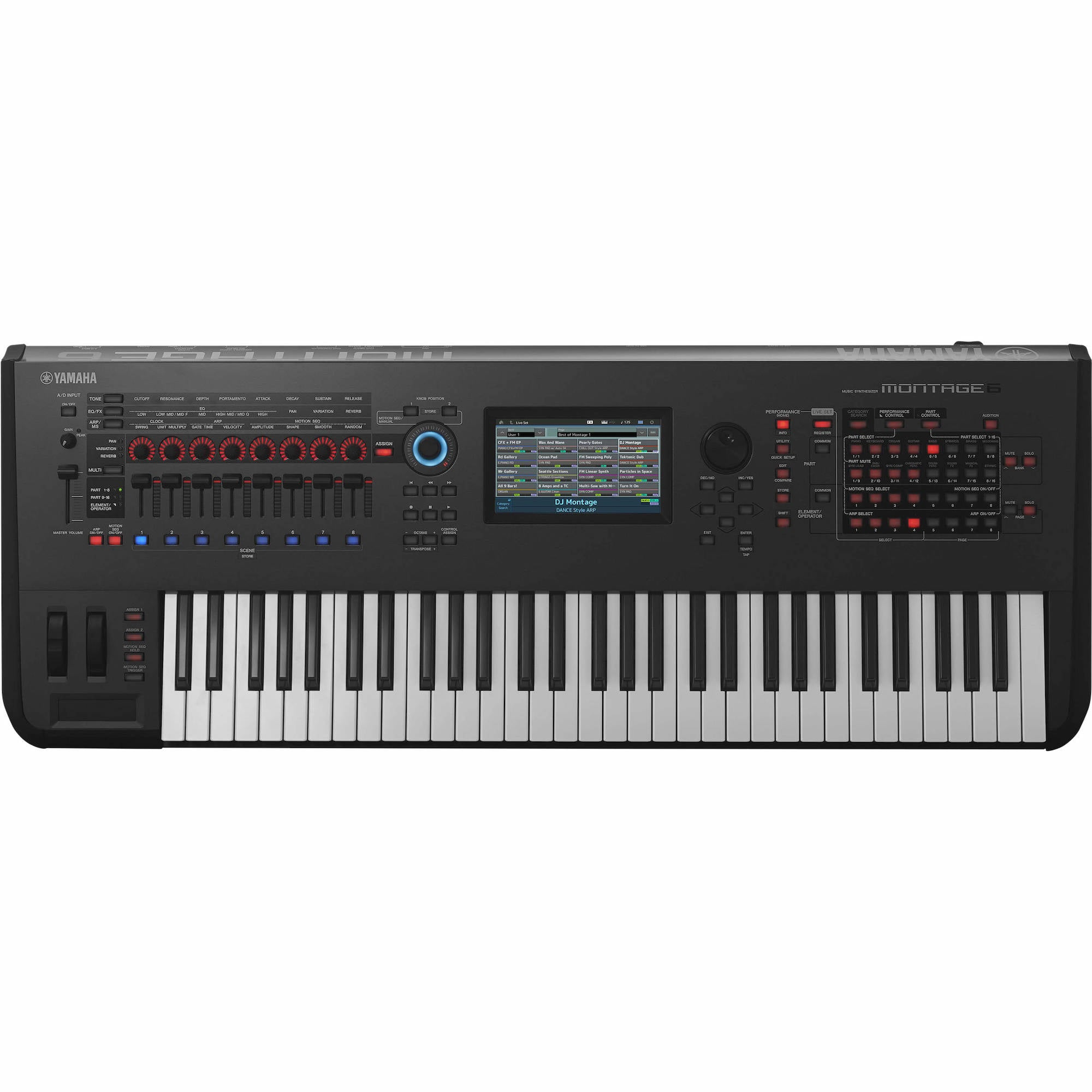 Yamaha Montage 6 Synthesizer | Music Experience | Shop Online | South Africa