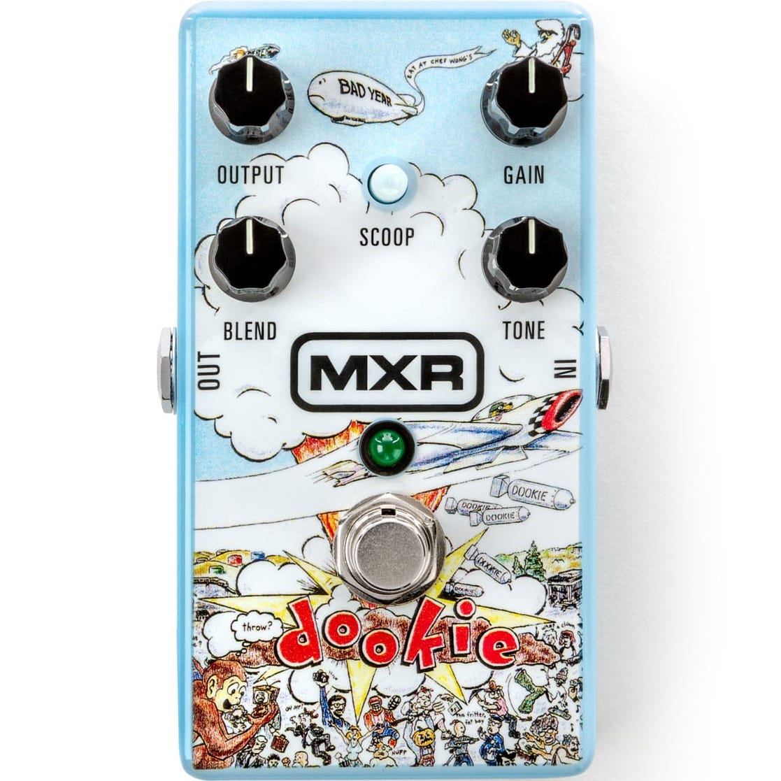 MXR DD25 Dookie Green Day Dookie Drive Pedal | Music Experience | Shop Online | South Africa