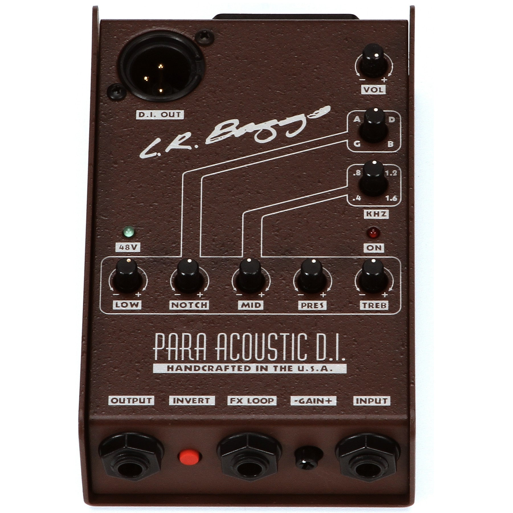 LR Baggs Para DI 5-Band EQ and Direct Box