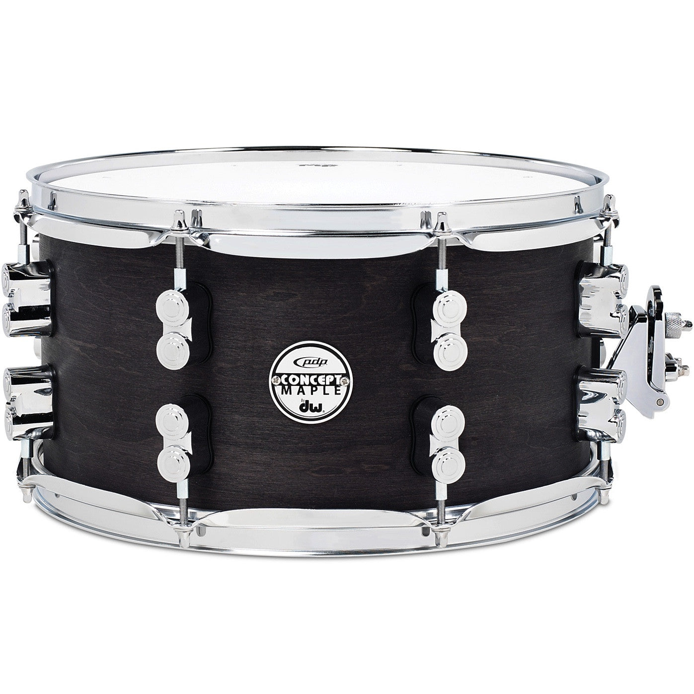 PDP Concept Series All-Maple Black Wax Snare PDSN0713BWCR