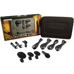 Shure PGA Alta DrumKit4 Four-Piece Drum Microphone Kit | Music Experience | Shop Online | South Africa