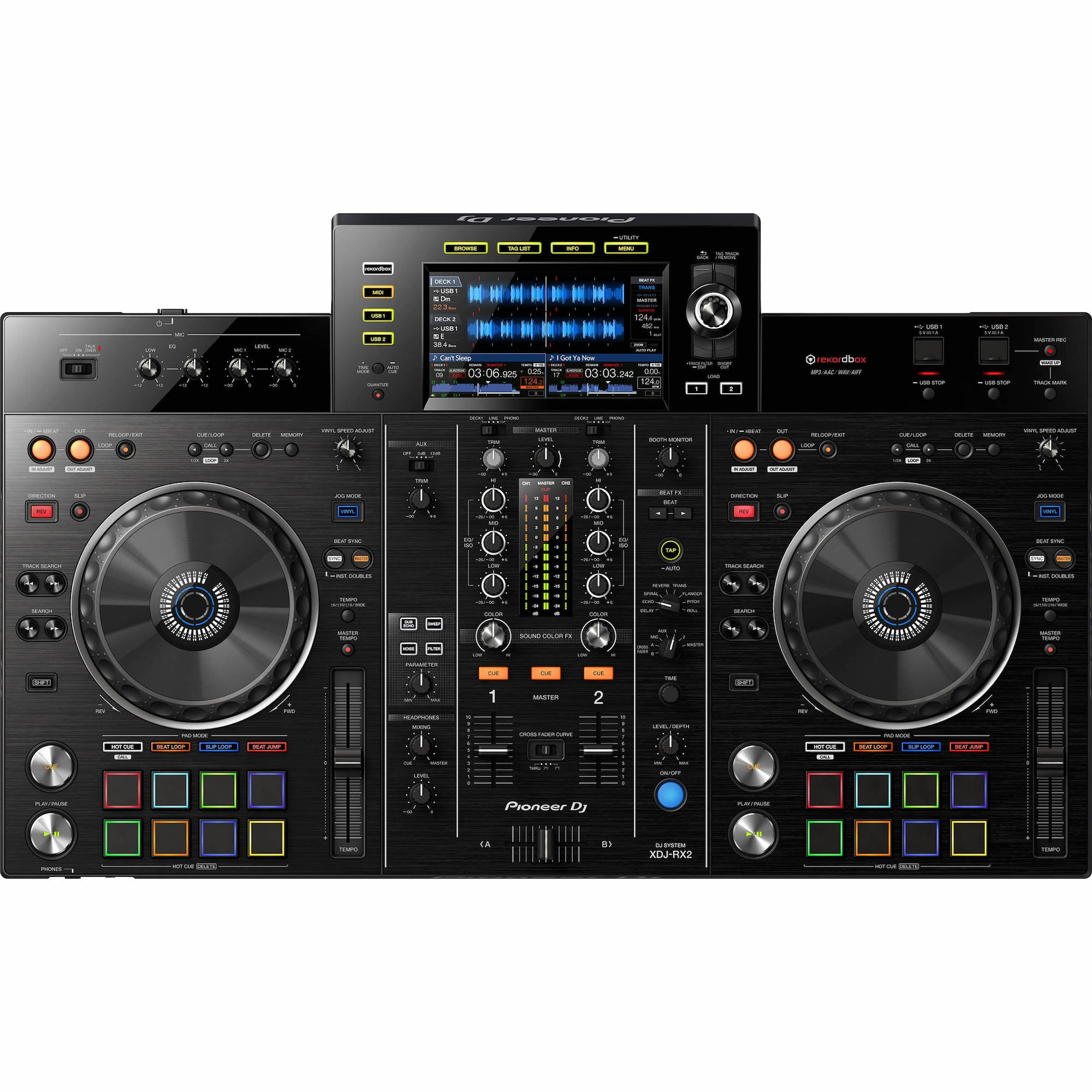 Pioneer DJ XDJ-RX2 Digital DJ System | Music Experience | Shop Online | South Africa