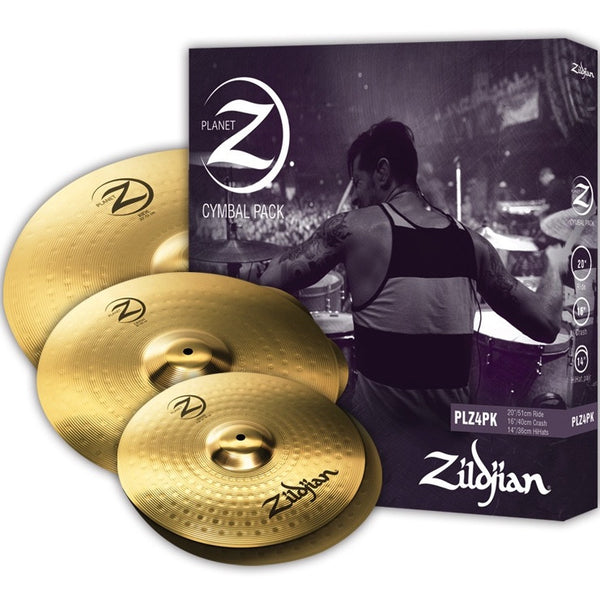 Zildjian Planet Z Cymbal Box Set PLZ4PK | Music Experience | Shop Online | South Africa