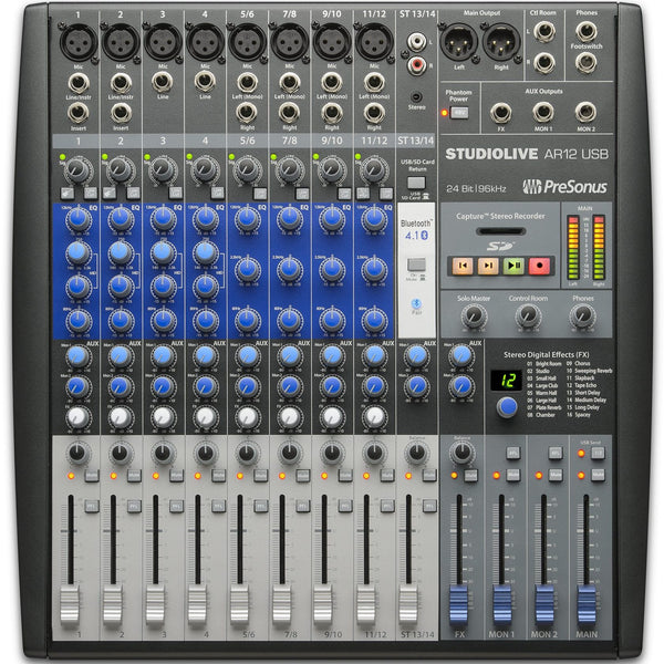 PreSonus StudioLive AR12 USB Mixer | Music Experience | Shop Online | South Africa