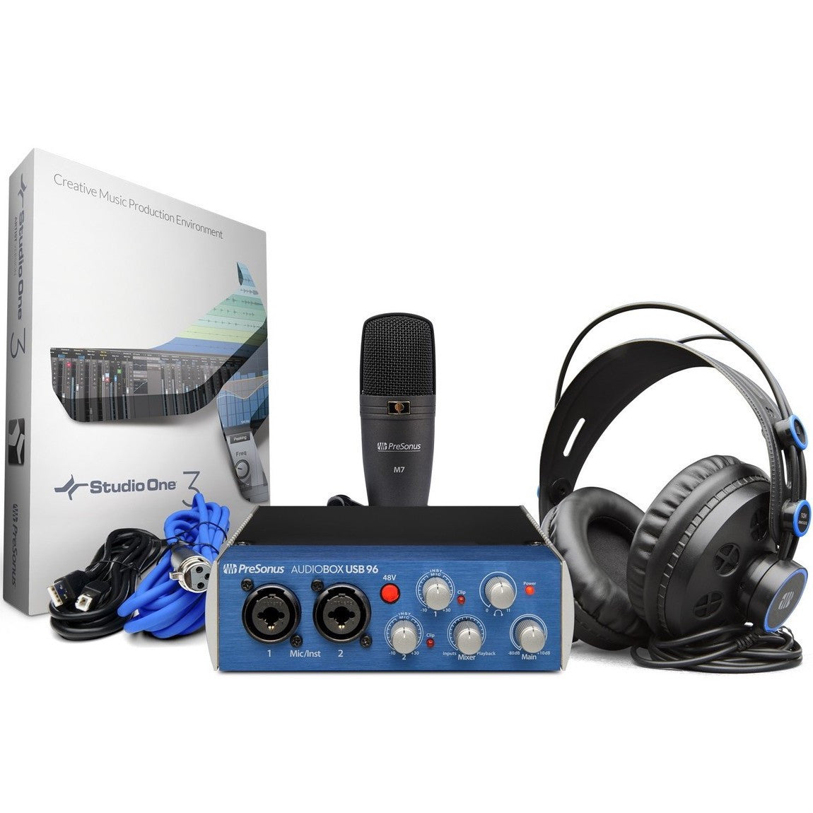 PreSonus AudioBox USB 96 Recording Bundle | Music Experience Online | South Africa