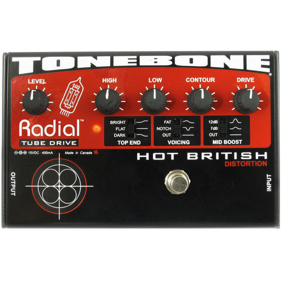 Radial Tonebone Hot British 12AX7 Tube Distortion