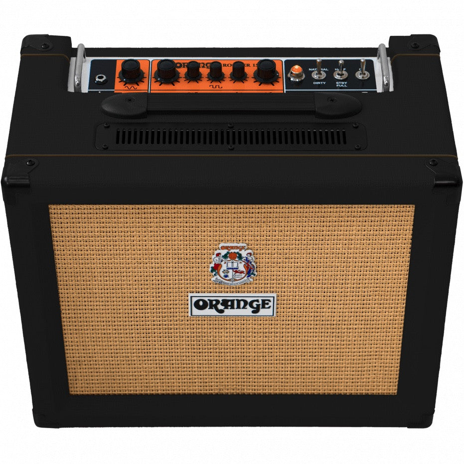 "Orange Rocker 32 - 30-watt 2x10"" Stereo Tube Combo - Black 
