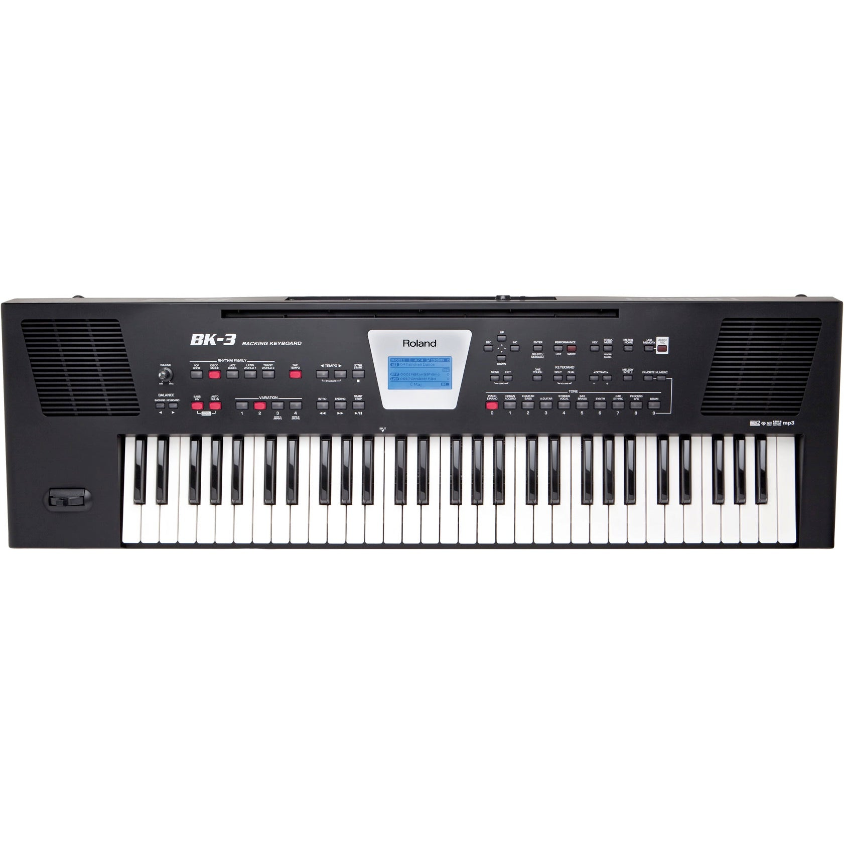 Roland BK-3 61 key Backing & Arranger Keyboard | Music Experience | Shop Online | South Africa
