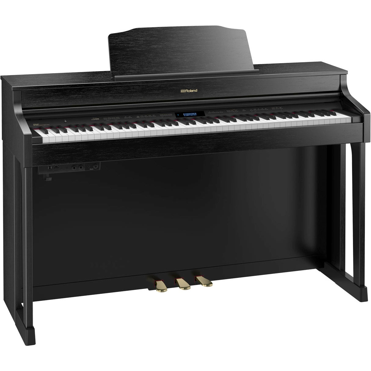 Roland HP603 Digital Home Piano - Contemporary Black | Music Experience | Shop Online | South Africa