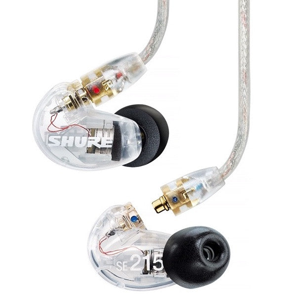 Shure SE215 Sound Isolating Earphones Clear | Music Experience | Shop Online | South Africa