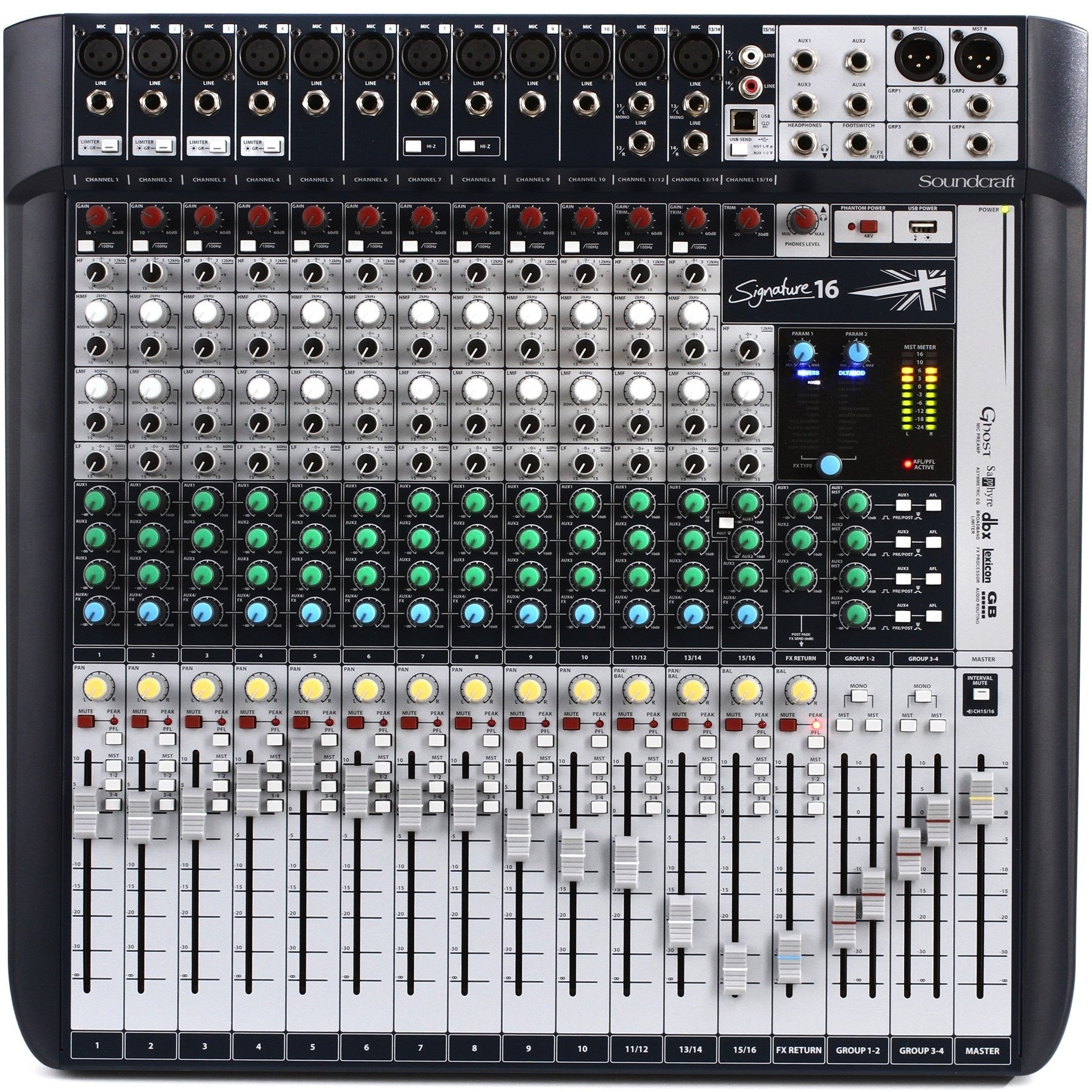 Soundcraft Signature 16 Analog Mixing Console | Music Experience | Shop Online | South Africa