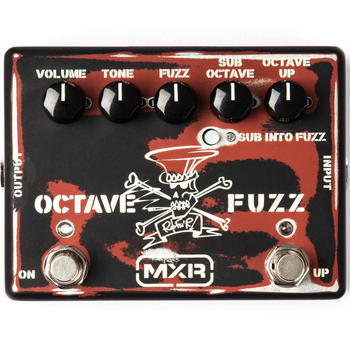 MXR SF01 Slash Octave Fuzz Pedal